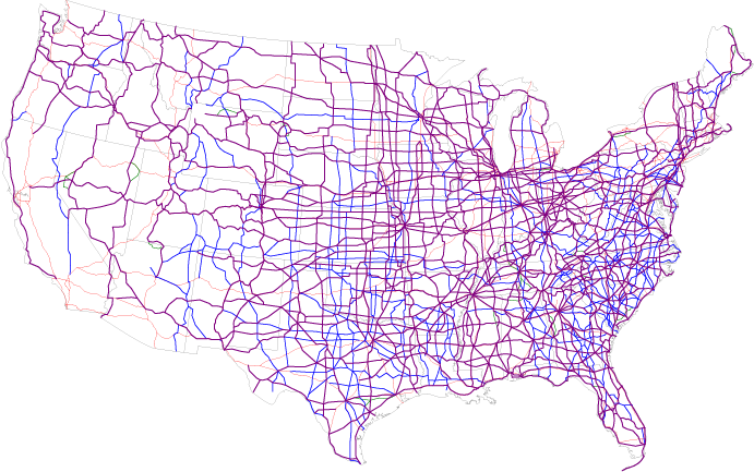 Truck Stops DTAP Express - Map of truck stops in us